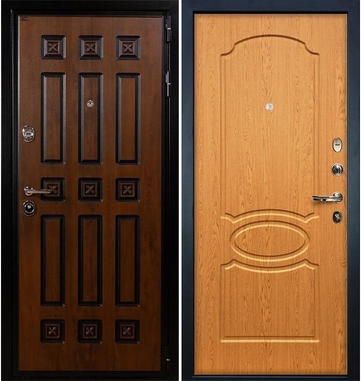 Входная дверь Гладиатор Винорит / Дуб натуральный (панель №15)