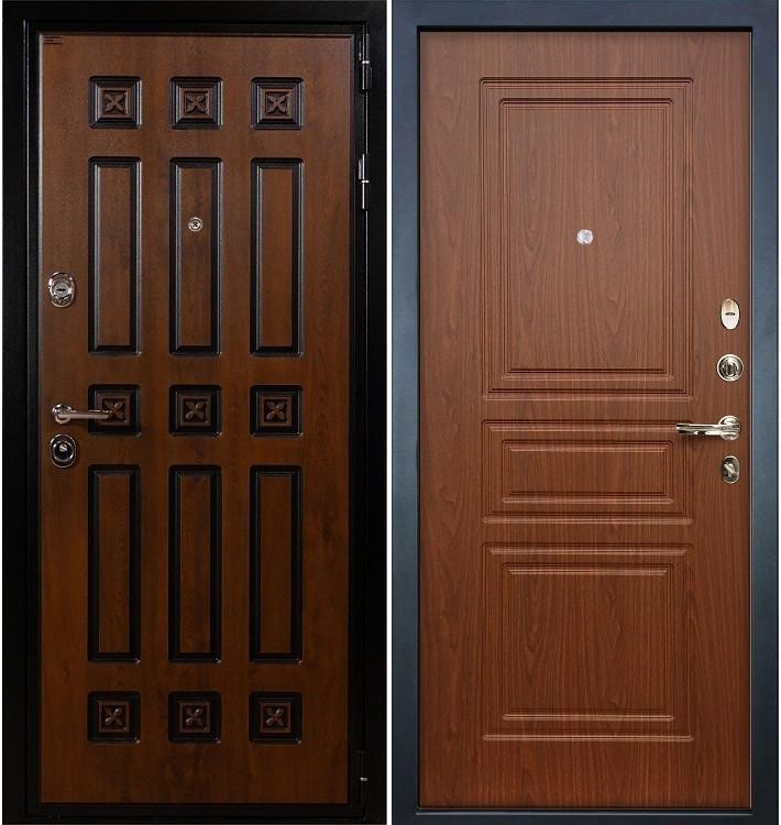 Входная дверь Гладиатор Винорит / Береза мореная (панель №19)