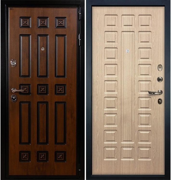 Входная дверь Гладиатор Винорит / Беленый дуб (панель №20)