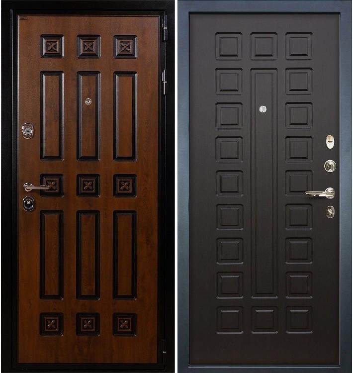 Входная дверь Гладиатор Винорит / Венге (панель №21)
