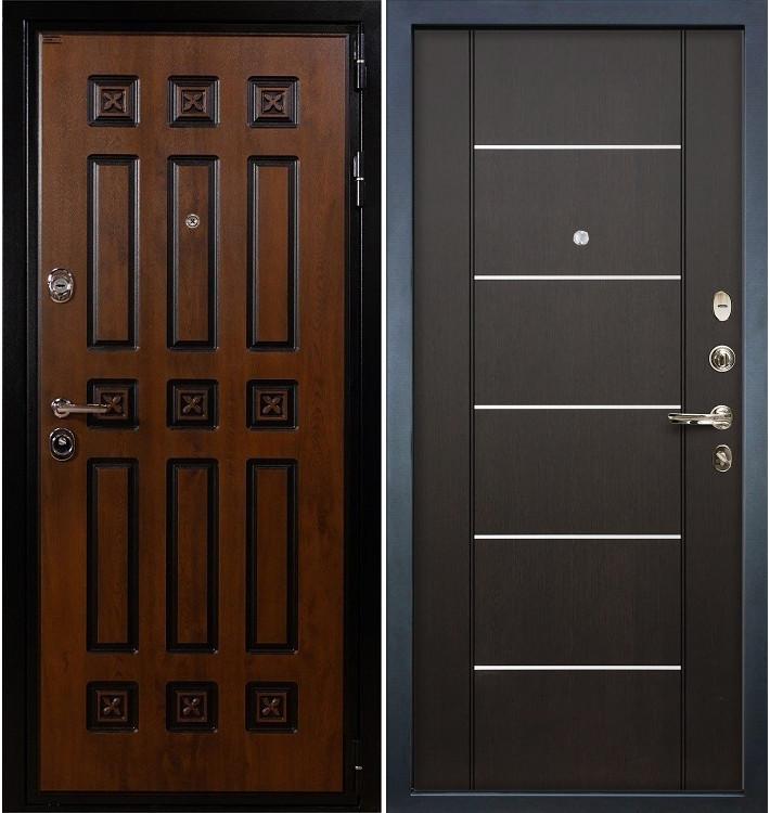 Входная дверь Гладиатор Винорит / Венге (панель №24)