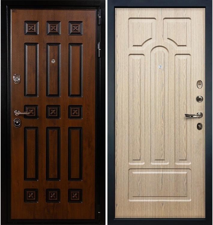 Входная дверь Гладиатор Винорит / Беленый дуб (панель №25)