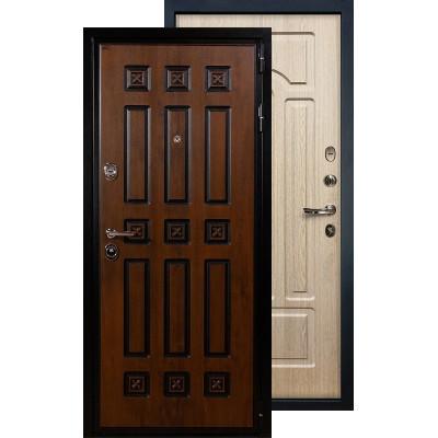 Входная дверь Лекс Гладиатор Винорит ФЛ-25 (Беленый дуб)