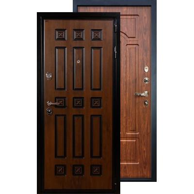 Входная дверь Лекс Гладиатор Винорит ФЛ-26 (Береза мореная)