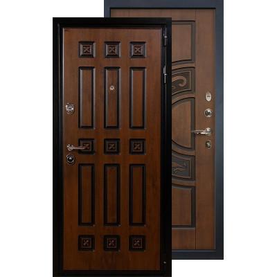 Входная дверь Лекс Гладиатор Винорит ФЛ-27 (Голден патина)