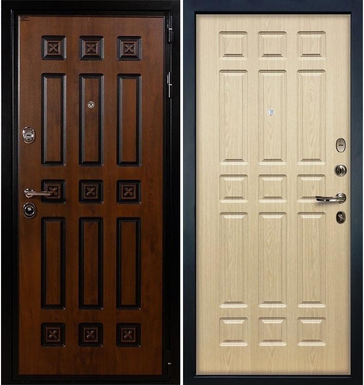 Входная дверь Гладиатор Винорит / Беленый дуб (панель №28)