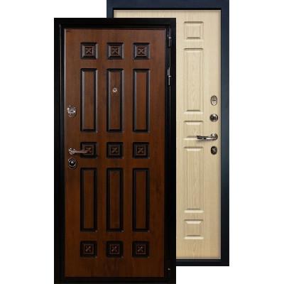 Входная дверь Лекс Гладиатор Винорит ФЛ-28 (Беленый дуб)