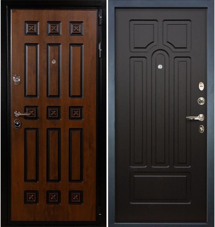 Входная дверь Гладиатор Винорит / Венге (панель №32)
