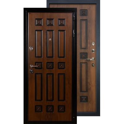 Входная дверь Лекс Гладиатор Винорит ФЛ-33 (Голден патина)