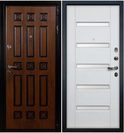 Входная дверь Гладиатор Винорит / Белый ясень (панель №34)
