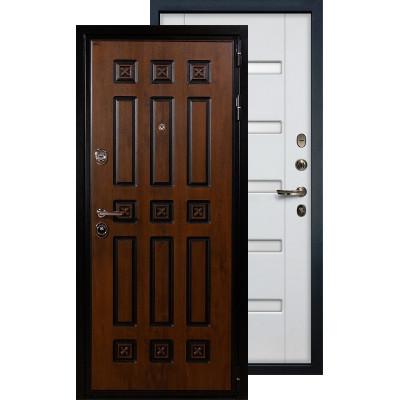 Входная дверь Лекс Гладиатор Винорит ФЛ-34 (Белый ясень)