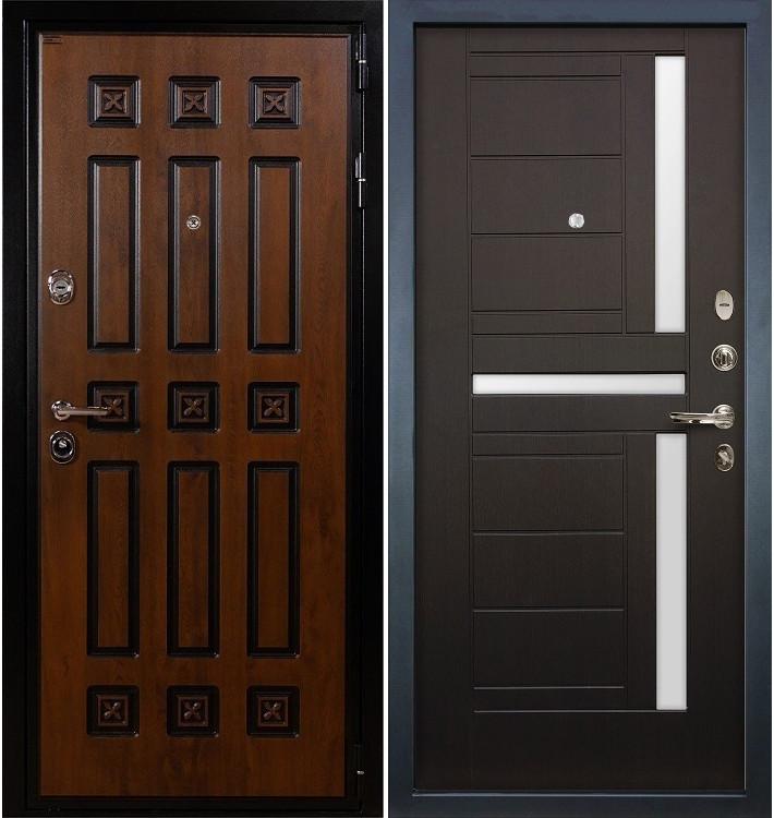 Входная дверь Гладиатор Винорит / Венге (панель №35)