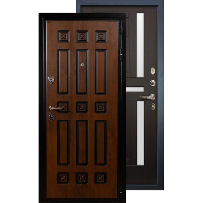 Входная дверь Лекс Гладиатор Винорит ФЛ-35 (Венге)