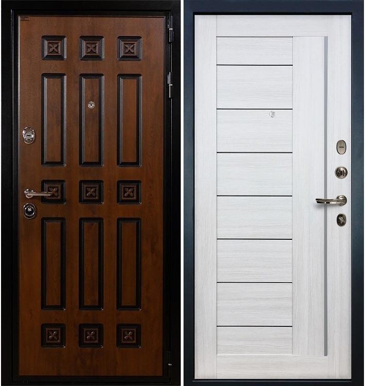 Входная дверь Гладиатор Винорит / Верджиния Беленый дуб (панель №38)