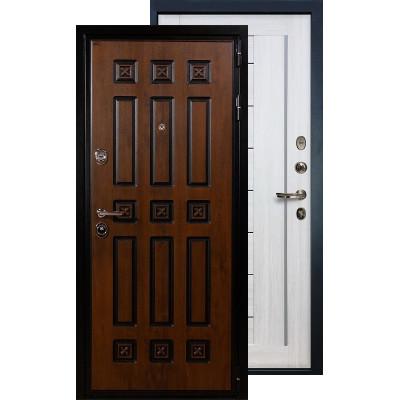 Входная дверь Лекс Гладиатор Винорит Верджиния (Беленый дуб)