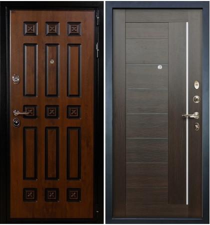 Входная дверь Гладиатор Винорит / Верджиния Венге (панель №39)