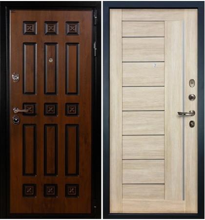 Входная дверь Гладиатор Винорит / Верджиния Кремовый ясень (панель №40)