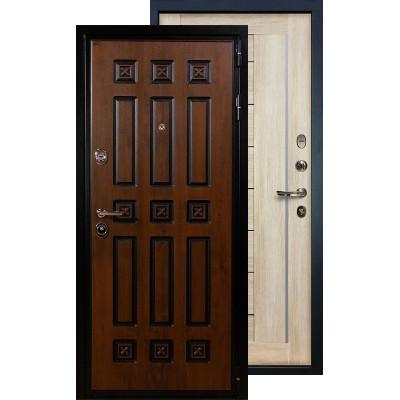 Входная дверь Лекс Гладиатор Винорит Верджиния (Кремовый ясень)