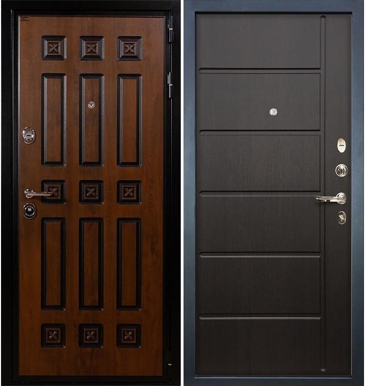Входная дверь Гладиатор Винорит / Венге (панель №41)