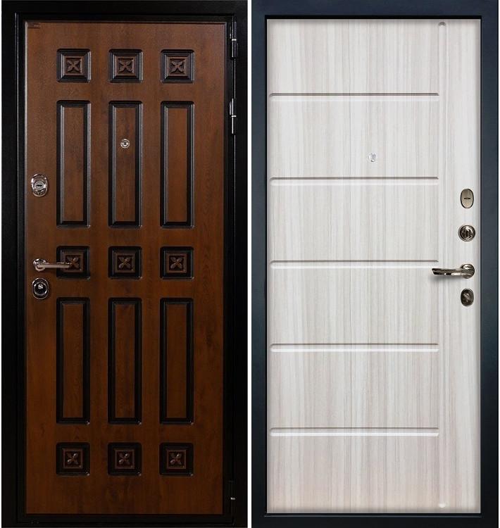 Входная дверь Гладиатор Винорит / Сандал белый (панель №42)