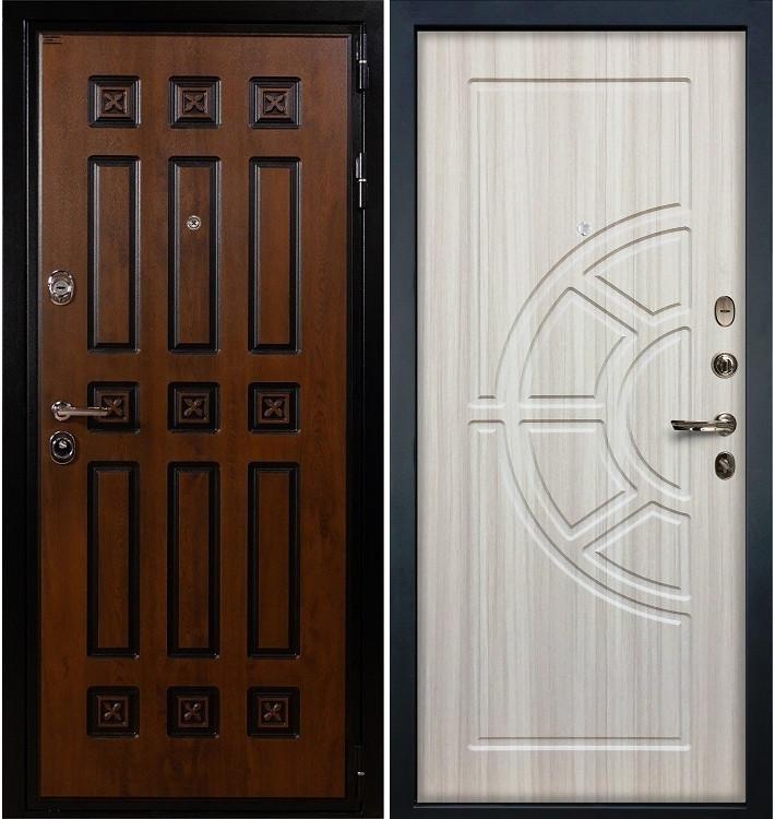Входная дверь Гладиатор Винорит / Сандал белый (панель №44)
