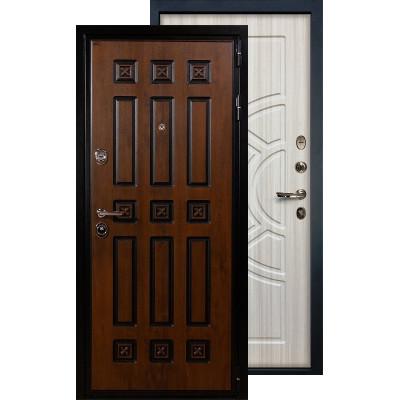 Входная дверь Лекс Гладиатор Винорит ФЛ-44 (Сандал белый)