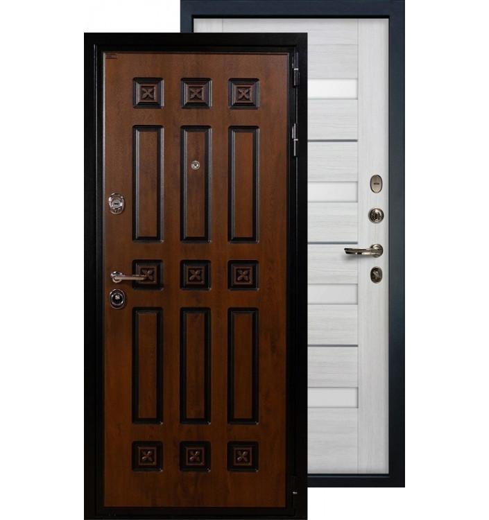 Входная дверь Лекс Гладиатор Винорит Сицилио (Беленый дуб)