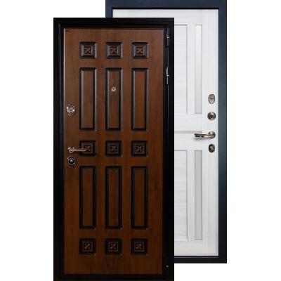 Входная дверь Лекс Гладиатор Винорит Баджио (Беленый дуб)