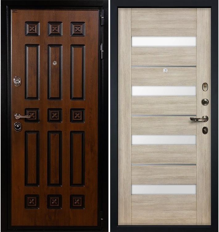 Входная дверь Гладиатор Винорит / Сицилио Ясень кремовый (панель №48)