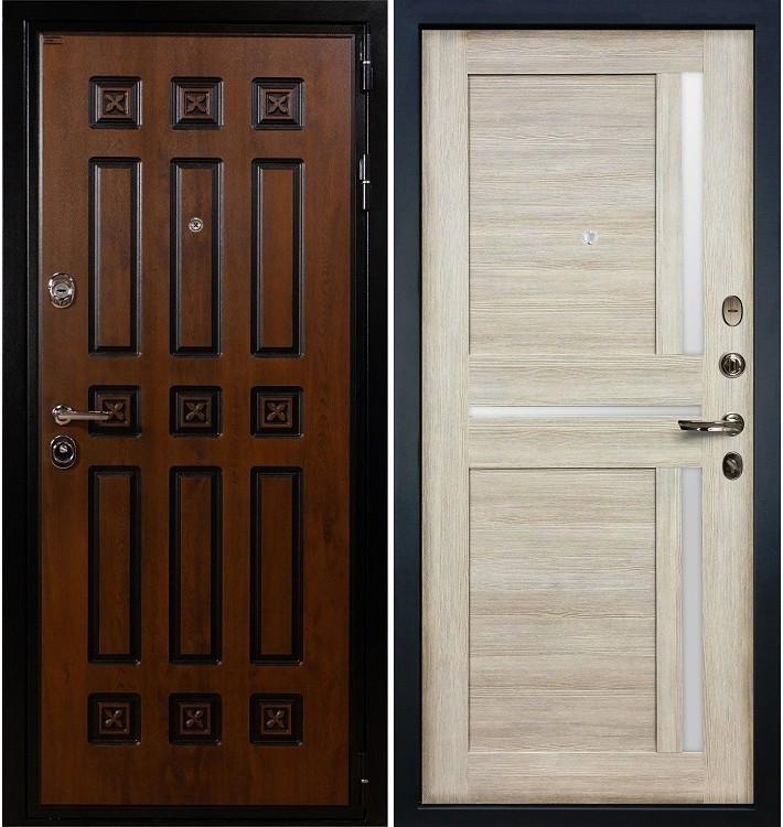 Входная дверь Гладиатор Винорит / Баджио Кремовый ясень (панель №49)