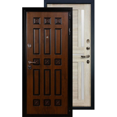 Входная дверь Лекс Гладиатор Винорит Баджио (Кремовый ясень)