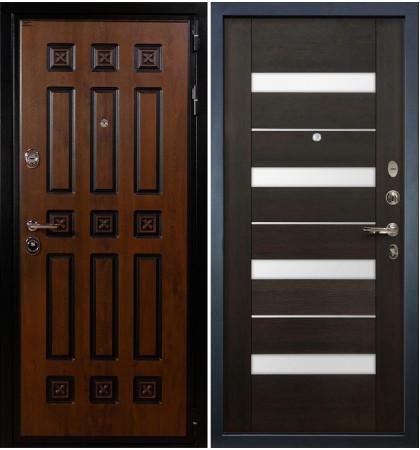 Входная дверь Гладиатор Винорит / Сицилио Венге (панель №51)