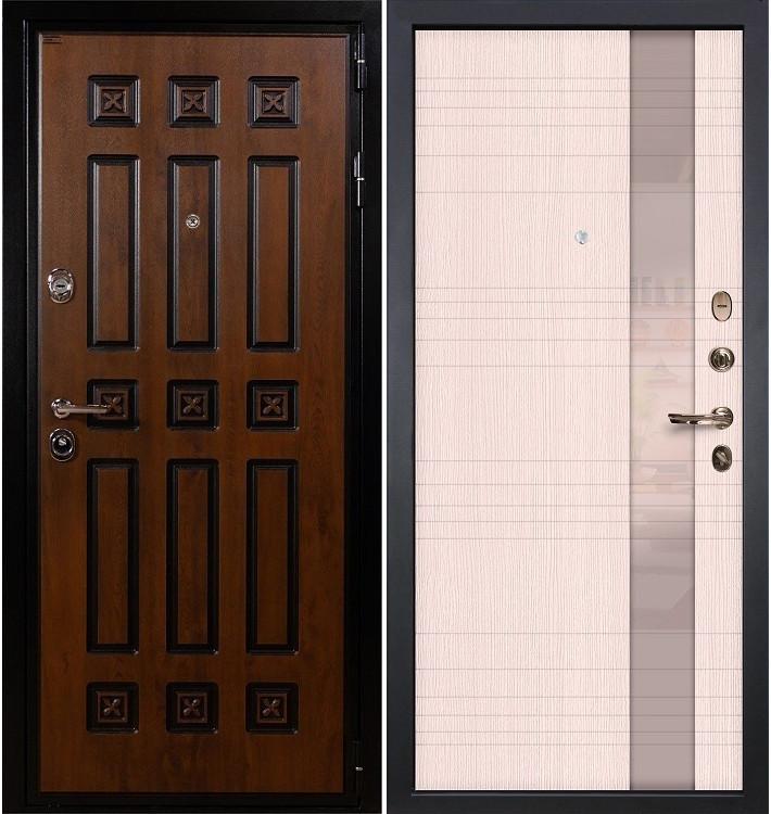 Входная дверь Гладиатор Винорит / Новита Беленый дуб (панель №52)