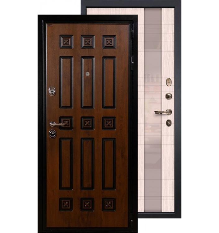 Входная дверь Лекс Гладиатор Винорит Новита (Беленый дуб)