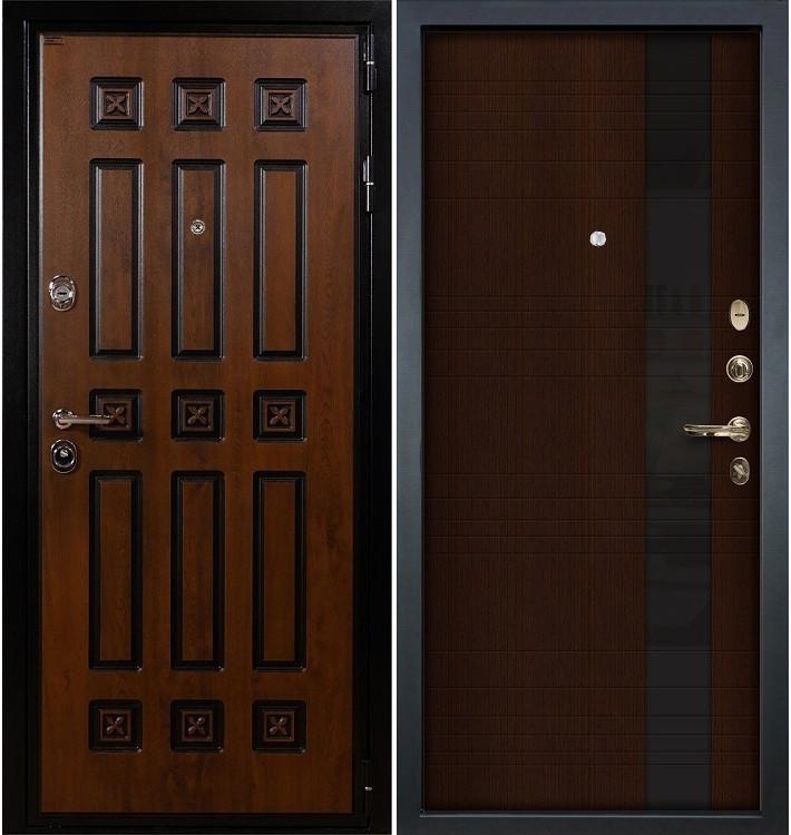 Входная дверь Гладиатор Винорит / Новита Венге (панель №53)