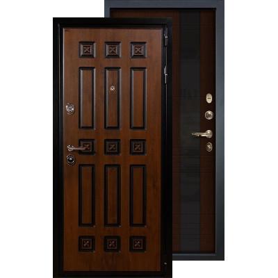 Входная дверь Лекс Гладиатор Винорит Новита (Венге)