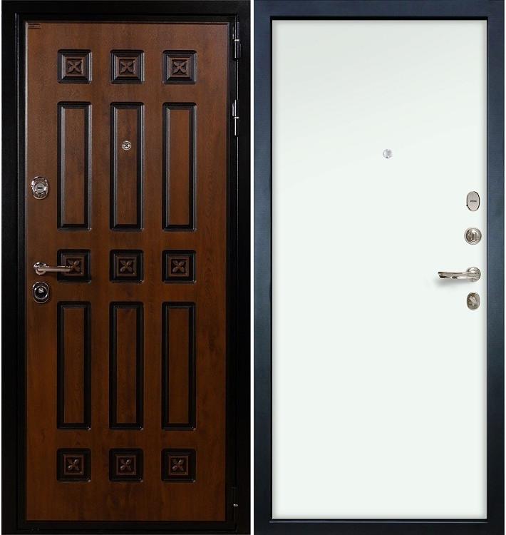 Входная дверь Гладиатор Винорит / Белый винорит (панель №59)