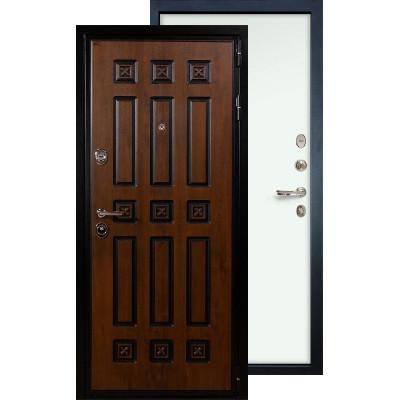 Входная дверь Лекс Гладиатор Винорит ФЛ-59 (Белый ясень)