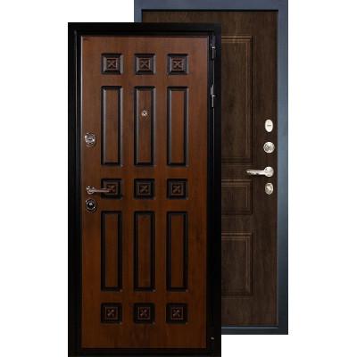 Входная дверь Лекс Гладиатор Винорит ФЛ-60 (Алмон 28)