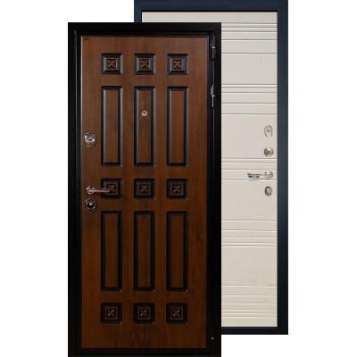 Входная дверь Лекс Гладиатор Винорит ФЛ-63 (Дуб фактурный)