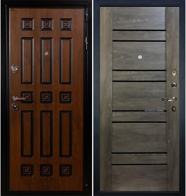 Входная дверь Гладиатор Винорит / Терра Графит шале (панель №64)