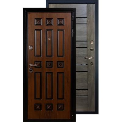 Входная дверь Лекс Гладиатор Винорит Терра (Графит шале)