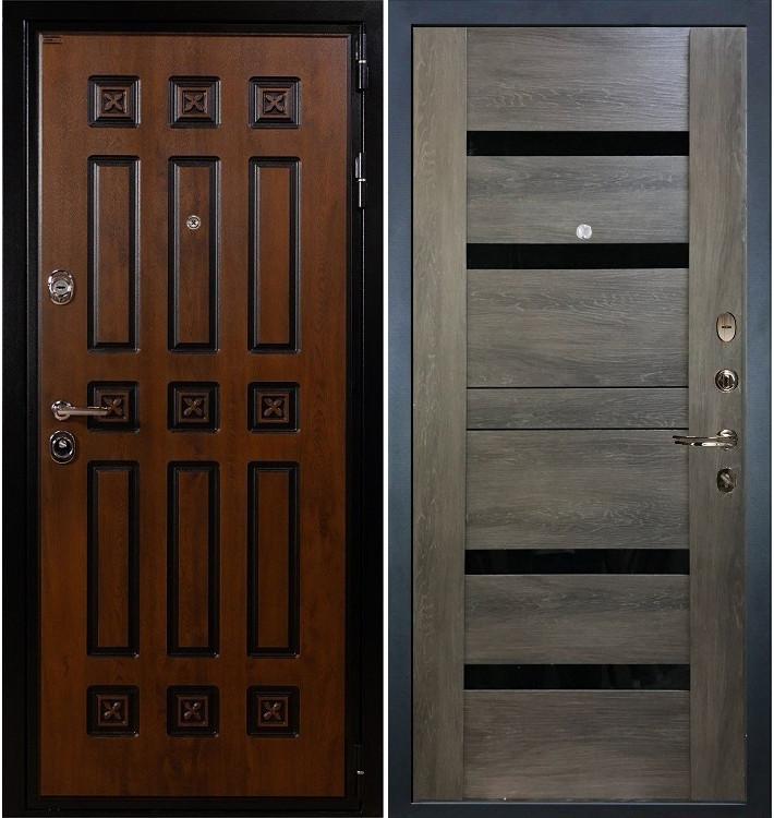 Входная дверь Гладиатор Винорит / Неро Графит шале (панель №65)