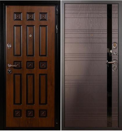 Входная дверь Гладиатор Винорит / Ясень шоколадный (панель №31)