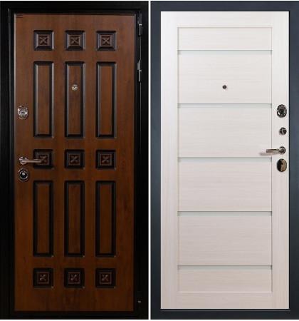 Входная дверь Гладиатор Винорит / Клеопатра Беленый дуб (панель №58)