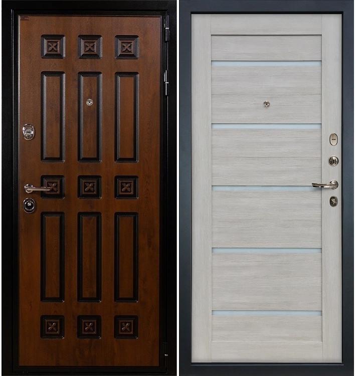 Входная дверь Гладиатор Винорит / Клеопатра Ясень кремовый (панель №66)