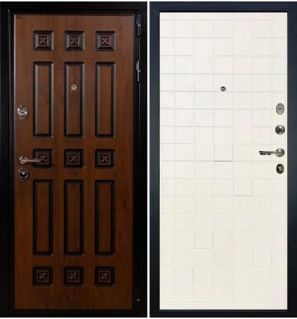 Входная дверь Гладиатор Винорит / Белый ясень (панель №56)