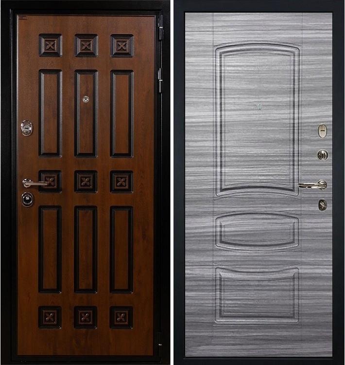 Входная дверь Гладиатор Винорит / Сандал серый (панель №69)