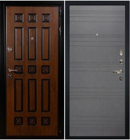 Входная дверь Гладиатор Винорит / Графит софт (панель №70)