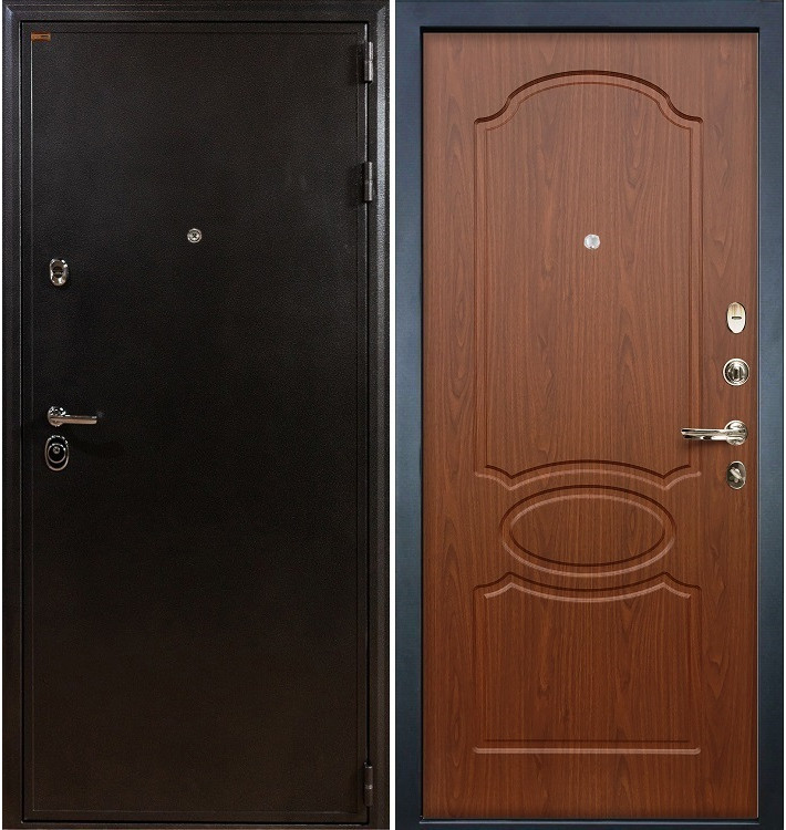 Входная дверь Колизей / Береза мореная (панель №12)